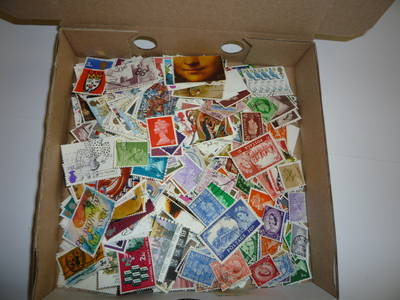 (Ref: T541) 1,000 DIFFERENT GREAT BRITAIN OFF PAPER